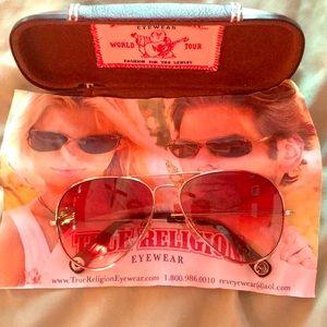 ❌SOLD True Religion Aviator Sunglasses